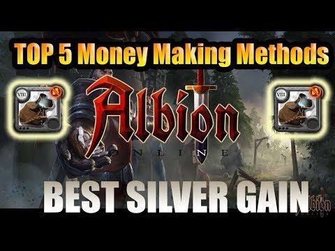 Albion Online – Top 5 Best Money Making Methods – Albion Online Fastest Money + Silver! in 2019!
