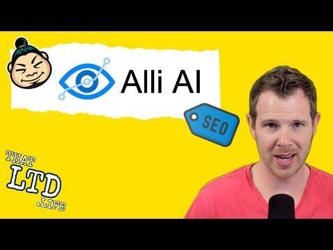 Alli AI Review – SEO Optimization Tool [AppSumo 2019]