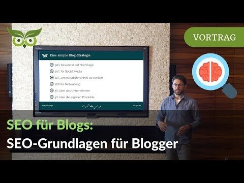 Blog SEO: Das grundlegende SEO-Tutorial für Blogger & Corporate Blogs