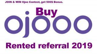 Buy an active rented referral at ojooo wad 2019 . Bangla YouTuber.