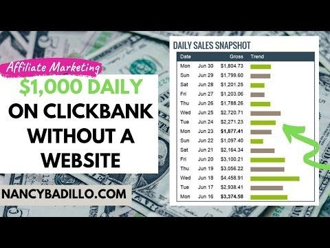 Clickbank Affiliate Marketing For Beginngers 2020 | Robby Blanchard Clickbank