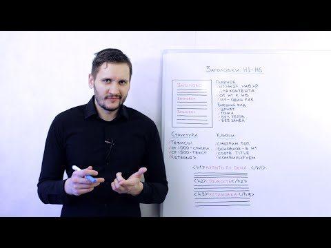 Оптимизация заголовков H1-H6 для SEO