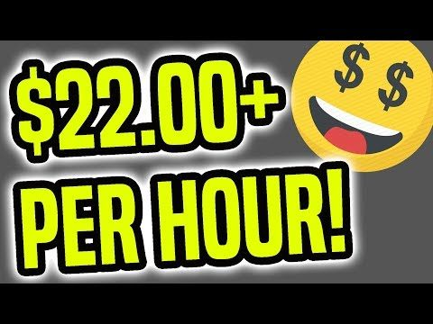 Earn PayPal Money FAST ($22+ Per Hour   Make Money Online)