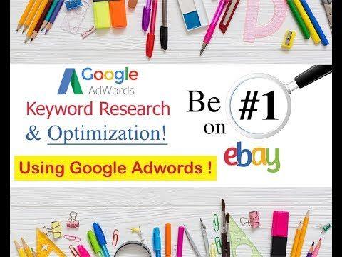 eBay Title SEO Optimization Using Google Adwords – Title Keyword Generator 2019