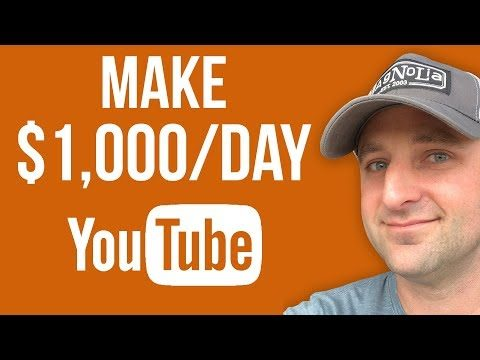 How To Make $1000 A Day On YouTube with Affiliate Marketing