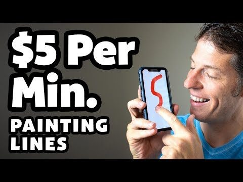 Make Money Painting Lines – Easy Online Jobs