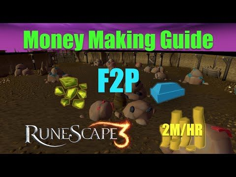 RuneScape 3 F2P Money Making Guide 2019