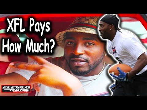 They Wont get NFL Millions… but XFL Players Will Make Good Money!