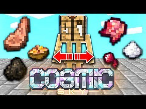 This MONEY making method is INSANE!   COSMIC SKY S3 #9 (Minecraft SKYBLOCK)