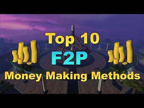 Top 10 F2P Money Making Methods 2019 [RuneScape 3]