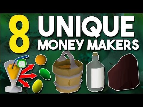 Top 8 Weird or Unknown Money Making Methods! [2019] Oldschool Runescape Money Making Guide! [OSRS]