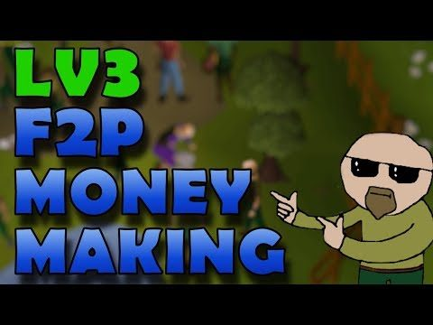 [OSRS] F2P Level 3 Money Making Guide 2018